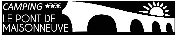 Camping Le Pont de Maisonneuve Logo