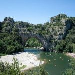 Kanufahren in der Ardèche