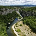 The Ardèche River Gorges