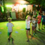 Soirée dansante au camping