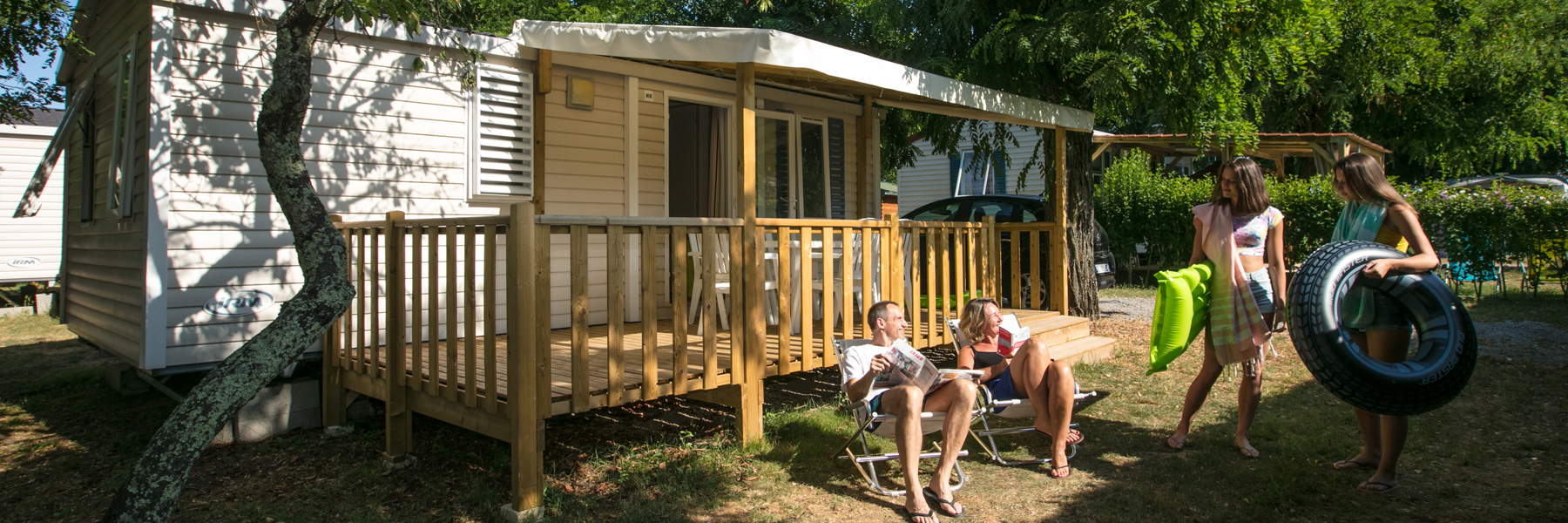 Mobil-Homes du camping